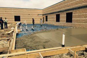 commercial concrete - irving concrete crew