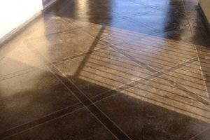 stained concrete - irving concrete crew
